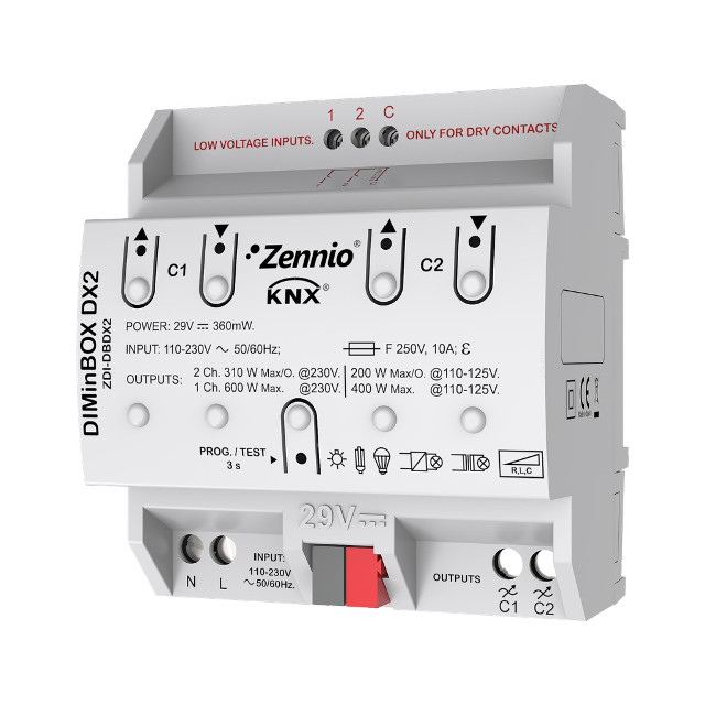 Диммер Zennio ZDI-DBDX2